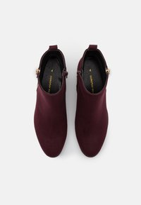 Dorothy Perkins - MACRO SIDE ZIP BOOT - Ankle boots - burgundy