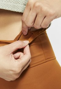 Nike Performance - ONE LUXE - Tights - burnt sienna - 4