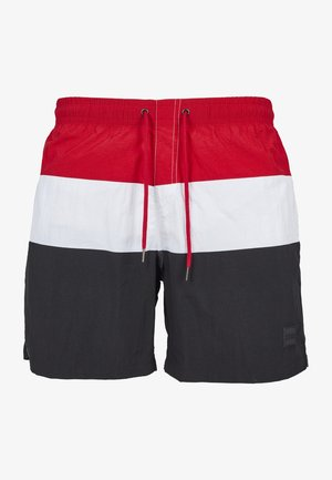 Swimming shorts - firered/navy/white