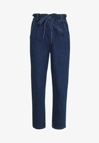 Benetton - TROUSERS - Relaxed fit jeans - dark blue - 3