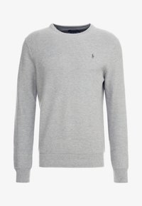 Polo Ralph Lauren - LONG SLEEVE - Neule - andover heather - 3