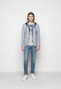 JOOP! Jeans - ALARON - Print T-shirt - medium blue - 1