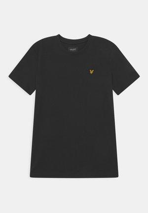 CLASSIC  - Jednoduché triko - true black