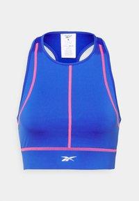Reebok - WOR DETAIL BRALETTE - Light support sports bra - court blue - 0