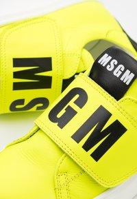 MSGM - Trainers - neon yellow - 5