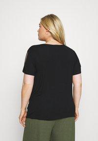 Anna Field Curvy - Camiseta básica - black - 2