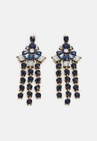Pieces - PCLOLLU EARRINGS - Boucles d'oreilles - gold-coloured/blue - 0