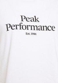 Peak Performance - ORIGINAL TEE - Print T-shirt - white - 5
