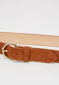 CLOSED - BELT - Pásek - dark pecan - 2