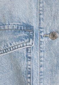 Gina Tricot - BELTED SHACKET - Denim jacket - blue - 2