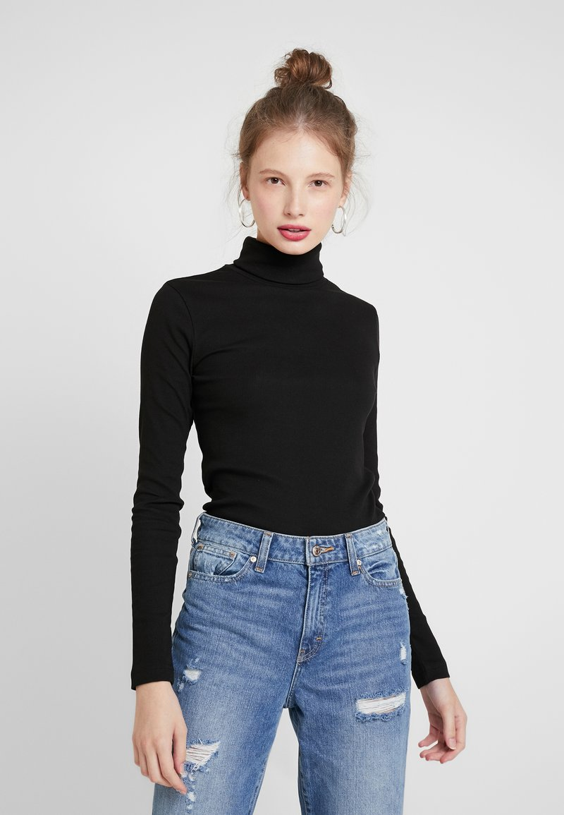 Weekday - VERENA TURTLENECK - T-shirt à manches longues - black