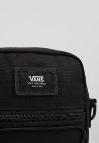 Vans - BAIL SHOULDER BAG - Across body bag - black - 2