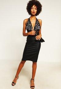 Morgan - JILI - Pencil skirt - noir - 1