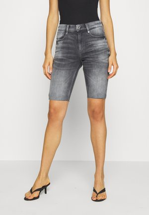 4311 NOXER HIGH SLIM RIPPED - Shorts vaqueros - vintage basalt