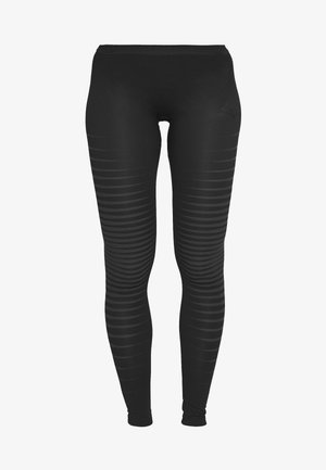 BOTTOM LONG PERFORMANCE LIGHT - Base layer - black