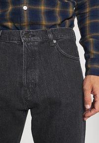 Weekday - SPACE STRAIGHT - Jeans bootcut - nova black - 3