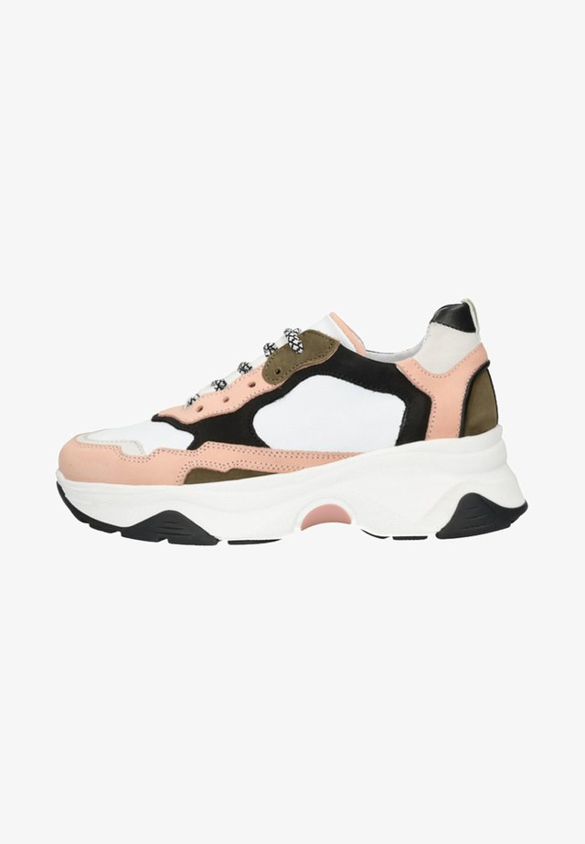 Trainers - nude/ pink