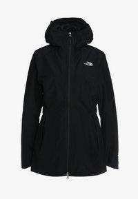 WOMENS HIKESTELLER JACKET - Hardshellová bunda - black