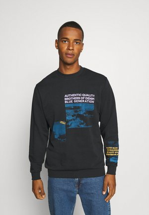 JORDHARONA CREW NECK - Sweatshirt - black