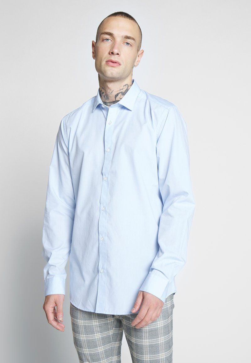 Only & Sons - ONSSANE SOLID POPLIN - Shirt - cashmere blue