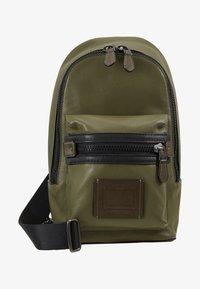 Coach - ACADEMY PACK - Across body bag - light olive - 5
