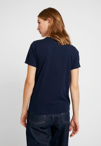 Hollister Co. - INCREMENTAL TECH CORE - Camiseta estampada - navy - 2