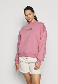 Dr.Denim Plus - MEMPHIS - Sweatshirt - rose blush - 0