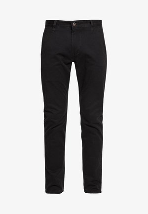 ALPHA ORIGINAL KHAKI SKINNY - Chinos - black