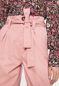 Miss Selfridge - TROUSER - Trousers - pink - 5