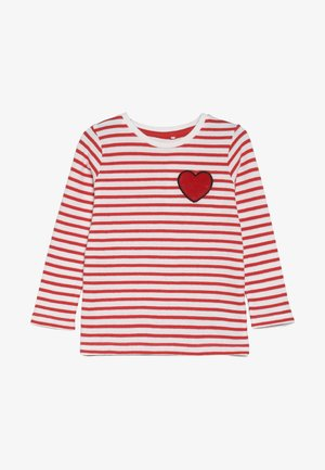 NMFLUMI  - Langærmede T-shirts - poppy red