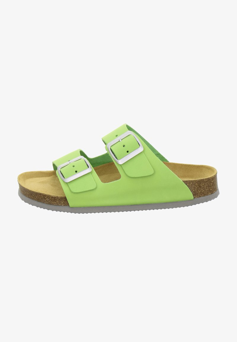 AFS Schuhe - ZWEISCHNALLER - Slippers - apfel