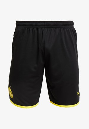 BVB BORUSSIA DORTMUND SHORTS REPLICA - Sports shorts - black/cyber yellow