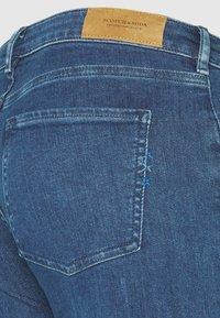 Scotch & Soda - BOHEMIENNE CROPPED - Jeans Skinny Fit - blue - 2