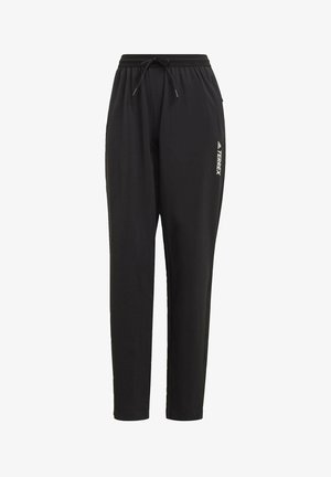 TERREX LITEFLEX HIKING TRACKSUIT BOTTOMS - Tracksuit bottoms - black