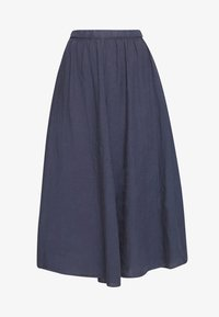 Marc O'Polo - SKIRT COLD DYE - Jupe trapèze - blue - 3