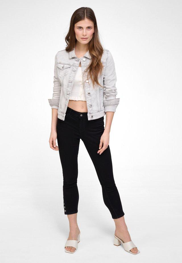 Denim jacket - light gray denim