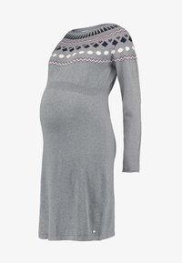 Esprit Maternity - DRESS - Etui-jurk - medium grey melange - 4