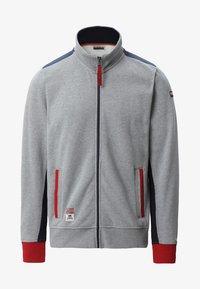 Napapijri - BARDARA  - Zip-up sweatshirt - grey - 6