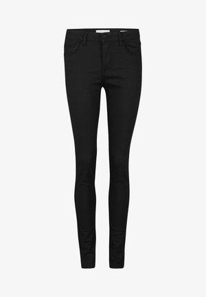 WE FASHION DAMES MID RISE SKINNY HIGH STRETCH BROEK - Jeans Skinny Fit - black