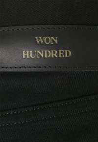 Won Hundred - PEARL RINSE  - Džíny Straight Fit - rinse black - 6