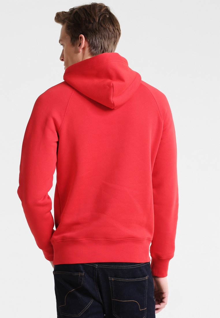GANT SHIELD HOODIE - Sweat à capuche - bright red