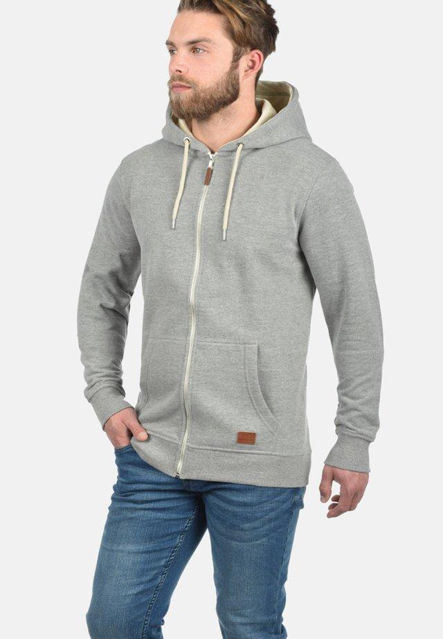 HULKER - Felpa aperta - light grey