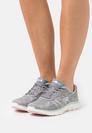 FLEX APPEAL 4.0 - Trainers - gray/mint/pink