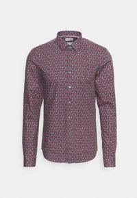 Calvin Klein Tailored - NATURAL STRETCH EXTRA SLIM  - Formal shirt - navy - 0