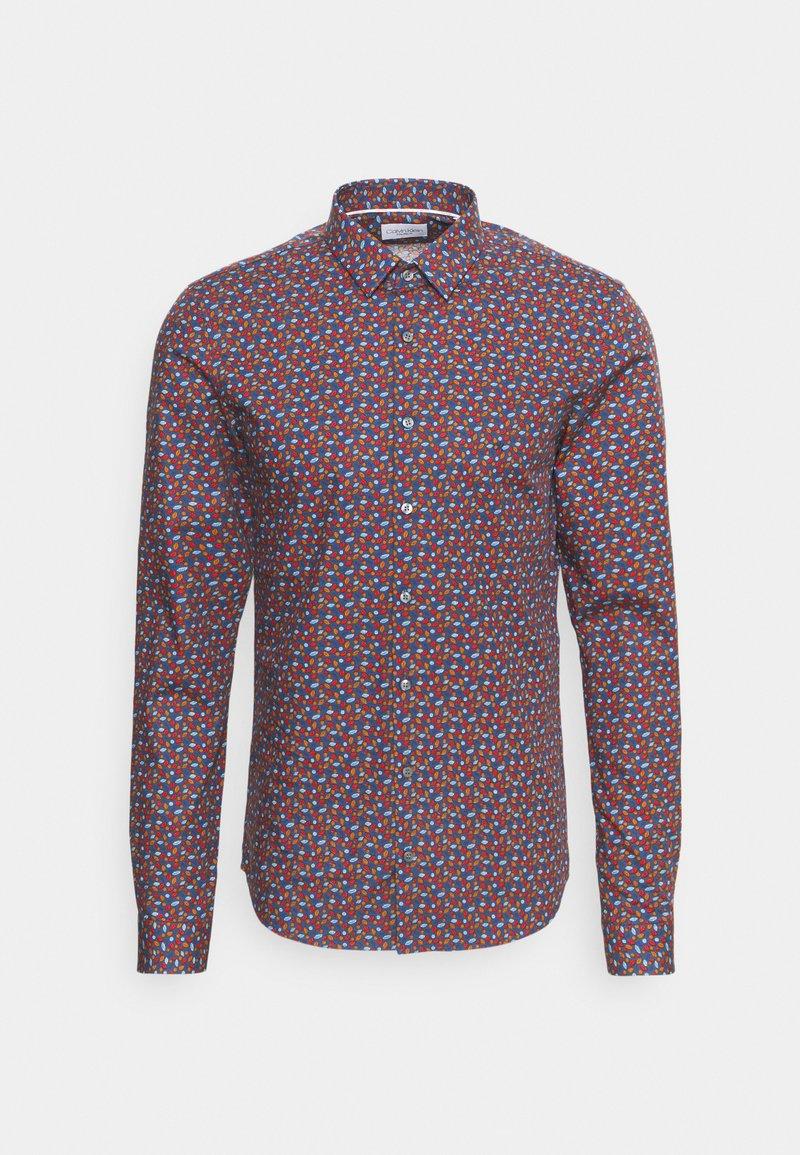 Calvin Klein Tailored - NATURAL STRETCH EXTRA SLIM  - Formal shirt - navy
