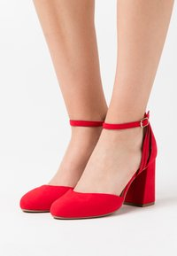 New Look Wide Fit - WIDE FIT SHUTTER  - High heels - bright red - 0