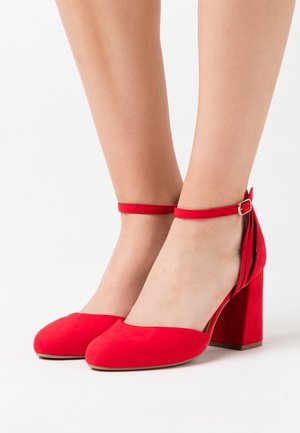WIDE FIT SHUTTER  - Zapatos altos - bright red