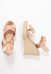Head over Heels by Dune - KATYAA - Sandały na obcasie - rose gold metallic - 3