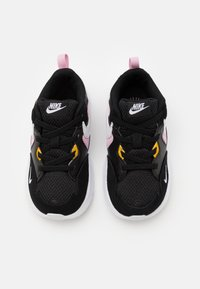 Nike Sportswear - AIR MAX FUSION - Sneakers basse - black/white/light arctic pink/dark sulfur - 3
