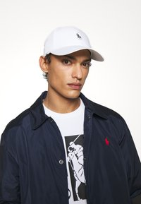 Polo Ralph Lauren - BASELINE UNISEX - Czapka z daszkiem - white - 0